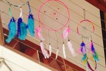 Dreamcatchers / Getting creative with home made dreamcatchers