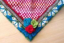 My own knittings.