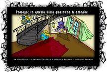 I Misteri di Villa Price / Il Webcomic Fantasy Gothic di Cippi and Friends