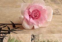 papír virág/paper flower