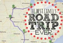 Family Road Trips / Articles, tips and pictures about taking family road trips.