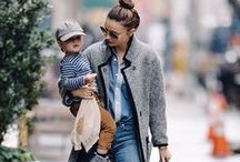 Motherhood in Style / the coolest and most stylish mamas! get some inspo...