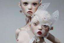 • Dolls • / Dolls word.