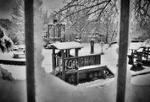 FOTOGRAFIE | PARUKÁŘKA V ZIMĚ / Park Parukářka na pražském Žižkově