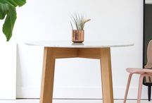 Tables / Our modern dining tables are handcrafted in Toronto. This board features a wide range of our modern dining room tables that can be used in a dining room, kitchen or workplace. More pictures of our dining tables are updated regularly.