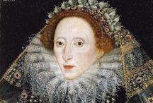 Elizabethans All / Portraits and clothing details c. 1558-1603