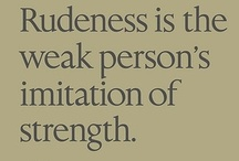 PEOPLE - QUOTES / by Sylvie Huard