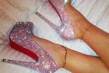Glitter Heels / by Highheels, Stockings & more