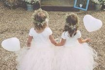 družičky - demoiselle d'honneur - flower girls / tak nějak si je představuju