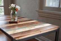 *** Upcycling used wooden objects ***