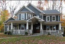 Exterior / Custom Homes Bult By Castlewood Custom Builders