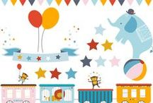 Baby ♥ Circus / De leukste babyspulletjes van ons huismerk Dreambee, geïnspireerd door het circus. Ideeën om een vrolijke sfeer in huis te halen.