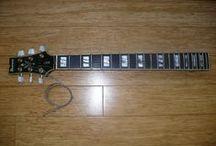 Ibanez Artstar Guitar Repair / Repairing an Ibanez Semi-Hollowbody guitar.  Re-attaching the neck to the body.