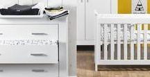La chambre de Bébé / Des chambres pour bébés créatives et de nombreuses idées super chouettes pour en faire un nid douillet unique.