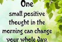 Positive Psychology / Balance brings harmony and stability, strength is the key
