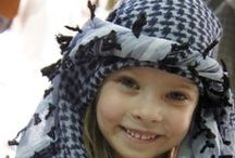 Shemagh Keffiyeh / The keffiyeh or kufiya is a traditional Middle Eastern headdress fashioned from a square scarf, usually made of cotton or cotton blends. Keffiyeh has been worn by Arabs residing in regions in Arabia, Jordan and Iraq for over a century.