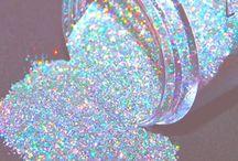 Glittery, holo, color-shifting stuff!