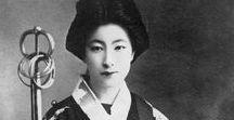 black & white japan