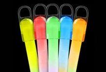 Glow Sticks, Bracelets & Necklaces / Tons of glow sticks, bracelets and necklaces at low prices!