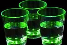 Glow & LED Drinkware / Light-up drinkware adds a little pizazz to any night-time party!