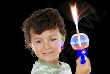 Glow & LED Toys / Anything and everything that glows or lights up!