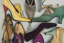 Shoes, Sandals, and Boots / Beautiful but wearable (except for a few that were just beautiful art works).