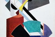 Russian Constructivism - Abstract Art: 1914-1930s / Austere Russian abstract art movement established by Vladimir Tatlin, joined by Rodchenko  and brothers Antoine Pevsner & Naum Gabo, Aleksandr Vesnin, & László Moholy-Nagy. The movement was in favor of art as a practice for social purposes, not as autonomous. It was concerned with abstraction, space, new materials, and especially 3-D form. But Russian Constructivism got tangled up with Communist doctrine, and had run its course by 1930.