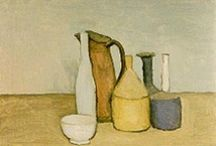 Morandi / Giorgio Morandi (July 20, 1890 – June 18, 1964) was an Italian painter and printmaker who specialized in still life. His paintings are noted for their tonal subtlety in depicting apparently simple subjects, which were limited mainly to vases, bottles, bowls, flowers and landscapes.