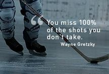 Great Quotes / Here is some inspiration hockey quotes to get you motivated for that big game  / by Perani's Hockey World