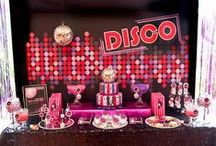 Disco Party Ideas / Everything you need to bring back disco for a night!