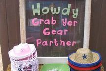 Western Party Ideas / Everything you need for a wild west party!