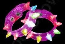 LED Bracelets / Check out our huge selection of LED light up bracelets!
