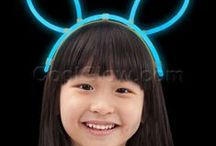 Glow Headbands & Hats / Glow in the dark headbands and hats are fun for every occasion!