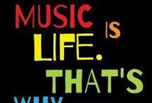 MUSIC ZONE / Music Takes Me Higher / by Rita Villanueva