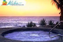 Spa Models from Aloha Fiberglass Pools / Spa Models from Aloha Fiberglass Pools