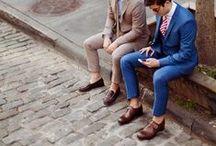 Street Style / Men walking around town like a boss.