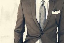 Menswear / Dressing well is a form of good manners.
