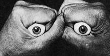 Le regard dans l'art / Regarder, voir, admirer... les yeux, le regard sujets et objets