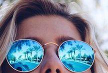 Verres miroir: vive la couleur ! / Des verres qui protègent du soleil et reflètent le paysage tout en couleur: osez les verres miroir !   www.lesopticiensperceval.com