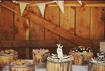 Rustic Weddings, Rustic Logs
