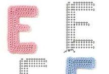 Crochet - letters