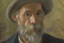 PIERRE AUGUSTE RENOIR- FRANCIA-1841-1919 / Nació en Limoges el 25 de febrero de 1841. Uno de los más célebres pintores franceses.