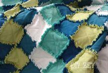 Rag quilt / DIY ZEY