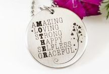 Etched Reflections Jewelry