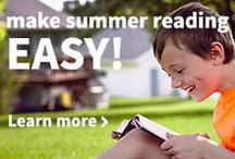 Summer Reading / Summer reading lists, activities and challenges to keep kids reading, and ways to help prevent the summer slide.