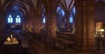 Medievalworlds / medieval 3d archviz, 3dmodels, authentic historical reconstructions, renaissance, fantasy