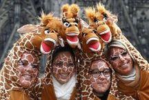 """Karneval in Köln / Carnival in Cologne / Der Karneval, auf Kölsch """"Fastelovend"""", spielt in Köln eine herausragende Rolle."""