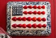 To the Red White and Blue / Looking for some patriotic recipes to celebrate this holiday weekend? Check out these great ideas from our friends at @Food Network. / by Buick
