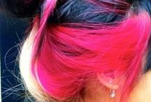 colored hair<3