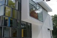 St. Christopher's the Hall School / Contemporary School extension with library space, classrooms, balcony and terrace